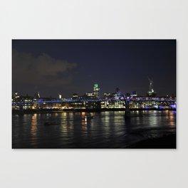 Night in London Canvas Print