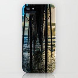Sky Painting (Oceanside Pier) ~ 10-2015 iPhone Case