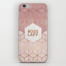 Boss Lady / 2 iPhone Skin
