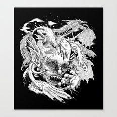 Demon Canvas Print