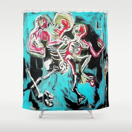The Grapple II Shower Curtain