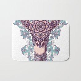 Giraffe (Color Version) Bath Mat