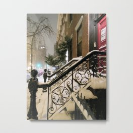 Winter Nights Metal Print