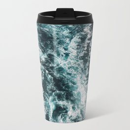 Green Seas, Yes Please Metal Travel Mug