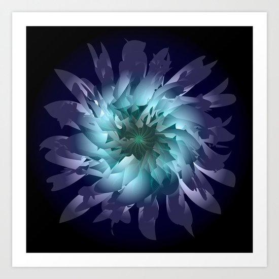 Ultraviolet Art Print