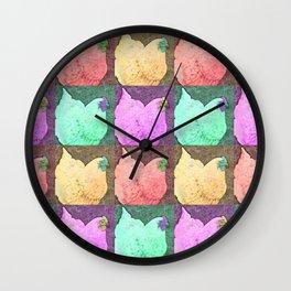 Pop Orp Wall Clock