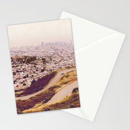 Misty Frisco (San Francisco sous la brume) Stationery Cards