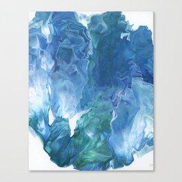Blue Thunder by Julia Duerler Canvas Print