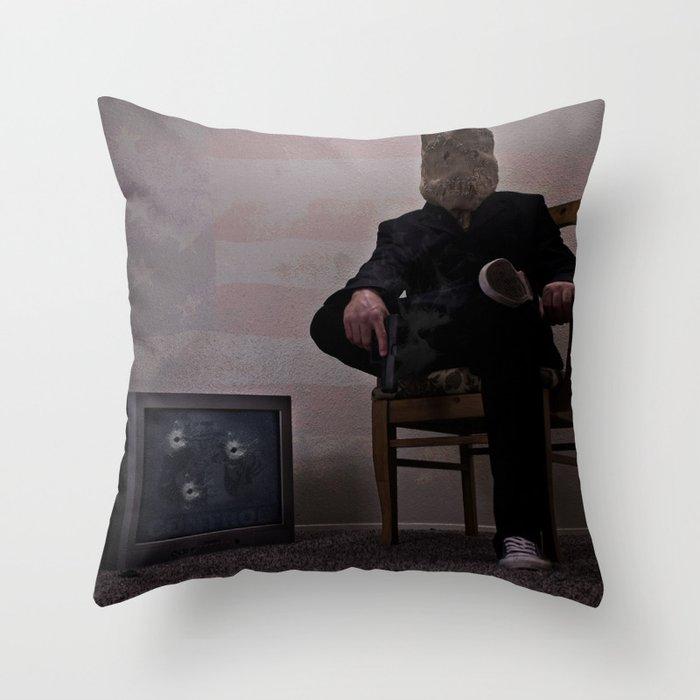 No Control  Throw Pillow