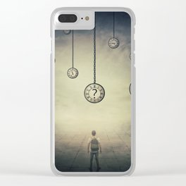 Time  Perception Clear iPhone Case