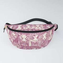 me beauties cherry pearl Fanny Pack