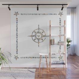 Compass Wall Mural