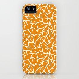 Branches - Orange iPhone Case