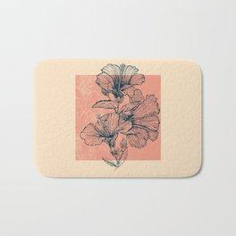 Hibiscus Colors Bath Mat