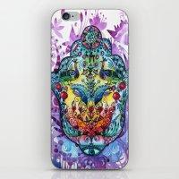 hamsa iPhone & iPod Skins featuring Hamsa by oxana zaika