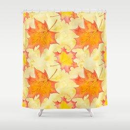 Autumn leaves #15 Shower Curtain