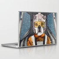 dexter Laptop & iPad Skins featuring Dexter by The-MoonSquid