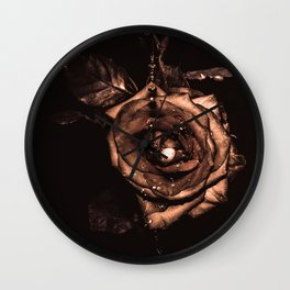 (he called me) the Wild rose Wall Clock