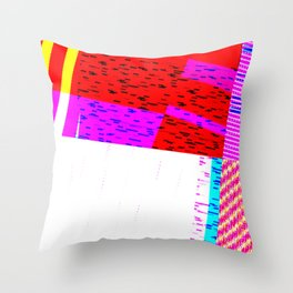 GLICTH_16 Throw Pillow