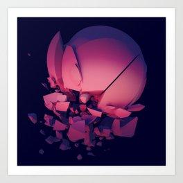 Vaporwave Art Print