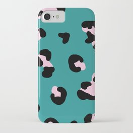 Bright trend leopard print iPhone Case