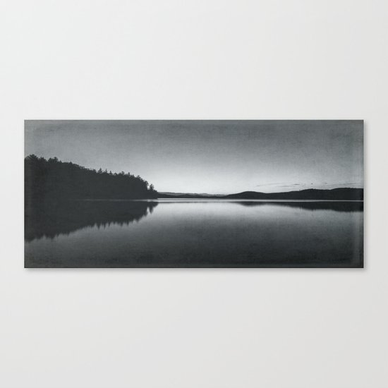 steely evening Canvas Print