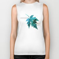 tinker bell Biker Tanks featuring Tinker Bell I'll always love you by Chien-Yu Peng