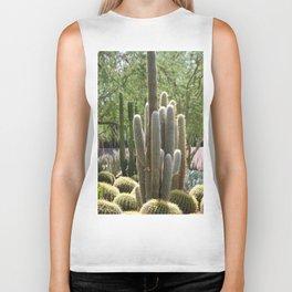 Cactus Garden at Sunnyland Estates in Rancho Mirage Biker Tank