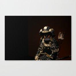 Samurai Armor Canvas Print