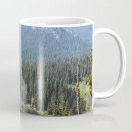 Mount Rainier Summer Adventure V - Pacific Northwest Mountain Landscape Coffee Mug