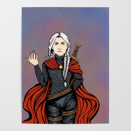 RED CAPE Poster