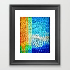 Creature from the Deep 2 Framed Art Print