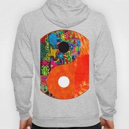 Orange Spunk Yin & Yang Hoody