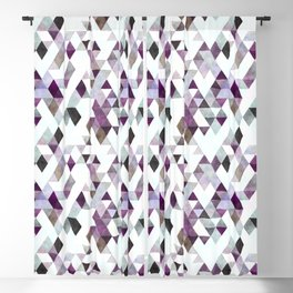 TRIANGLES Blackout Curtain