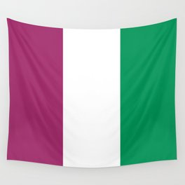 Flag of the suffragettes Wall Tapestry