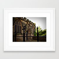 medieval Framed Art Prints featuring Medieval by Barbara Gordon Photography