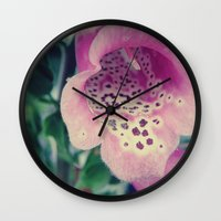 swallow Wall Clocks featuring Swallow by ChaoticWaffle
