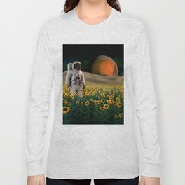 The Sunflower Field Long Sleeve T-shirt