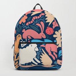 Nursery rhyme garden 002 Backpack