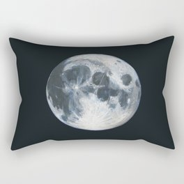 Moon Portrait 1 Rectangular Pillow