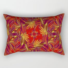 Colorful Abstract Ethnic Style Pattern Rectangular Pillow