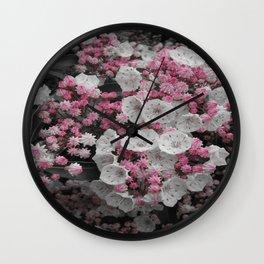 Kalmia latifolia Wall Clock