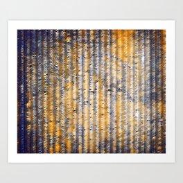 Textur Art Print