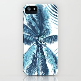 South Pacific palms II - oceanic iPhone Case