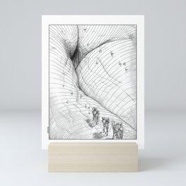 asc 660 - La route des origines (Bab alhaya) Mini Art Print