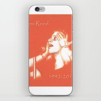 lou reed iPhone & iPod Skins featuring Lou Reed May He Rest In Peace by JennFolds5 * Jennifer Delamar-Goss