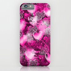 Light Bulb Hearts Series (pink) iPhone 6s Slim Case
