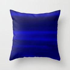 darkBlue sky Throw Pillow