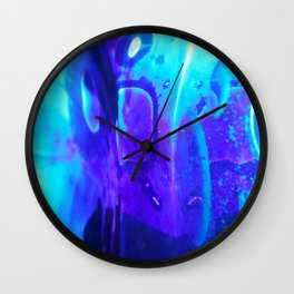 Blobs 7 Wall Clock