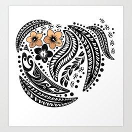 Polynesian Tribal Art Print